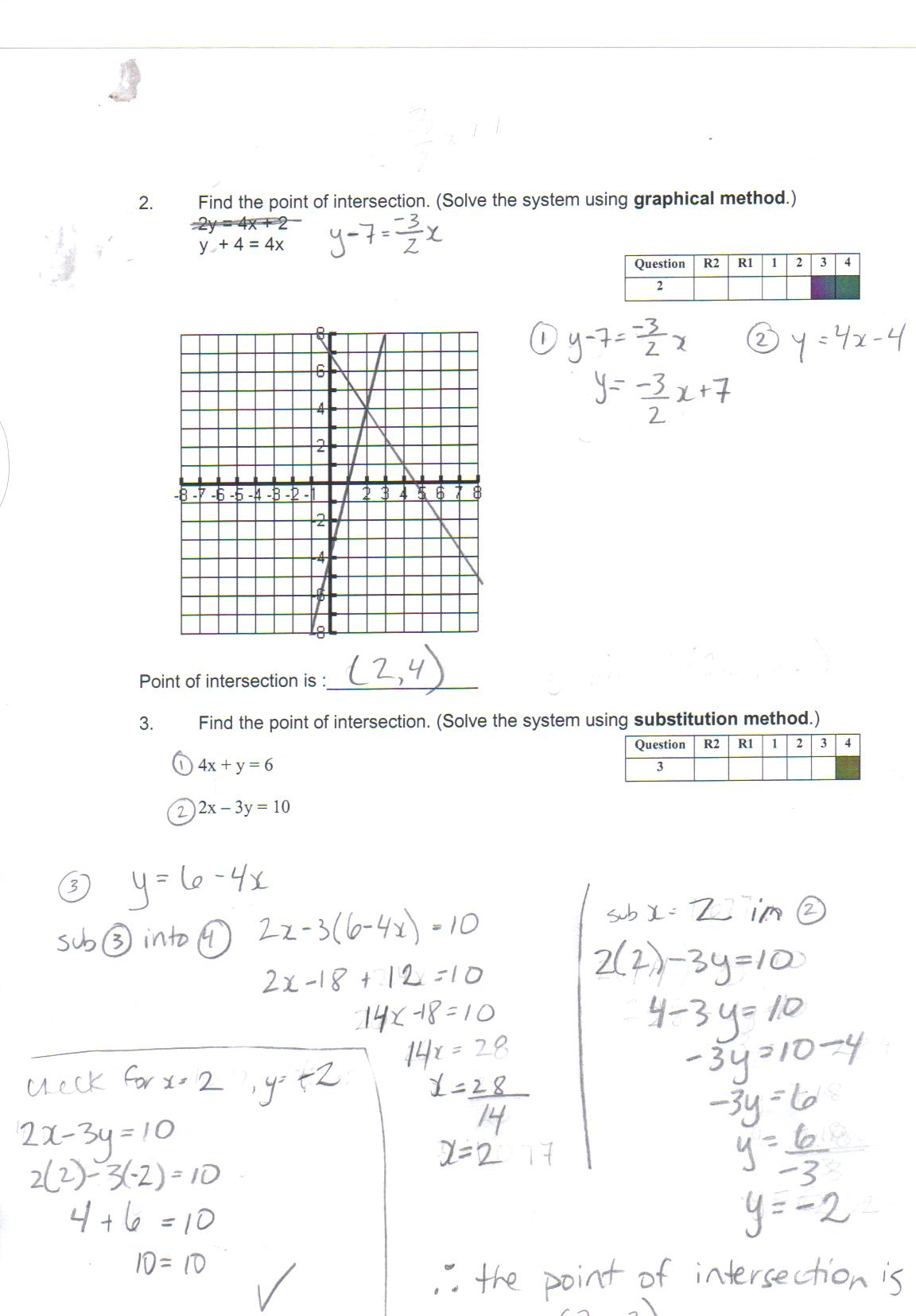 worksheet Systems Of Equations By Substitution Worksheet Essay – Solve by Substitution Worksheet